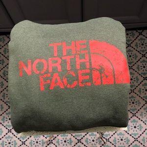 THE NORTH FACE HOODIE: MEDIUM